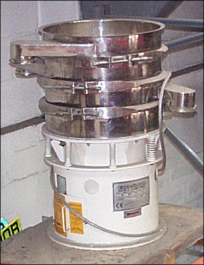 Demonstration VS55S/3 Vibratory Separator Machine Image