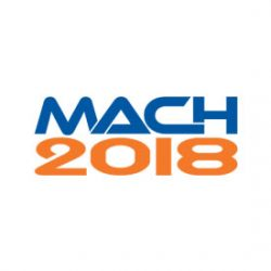 See us at MACH 2018, Birmingham 9th -13th April 2018, stand H6 764